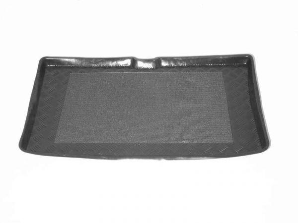 Hyundai getz 2002 sur mesure sol tapis de voiture tapis noir mat jaune bordure