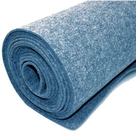Moquette d'habillage - Bleu - 200 x 500 cm